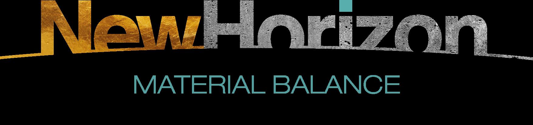 New Horizon Material Balance